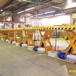 Plataformas Hidráulicas de Carga 1000Kg