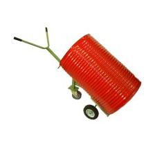 612. Carretilla pesada 3 ruedas reforzada