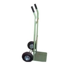 821. Carro pesado mango abierto c/ruedas neumáticas