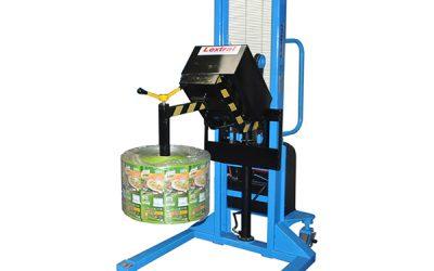 Manipulador de Bobinas Core Gripper Giro Automático. Mod. 241